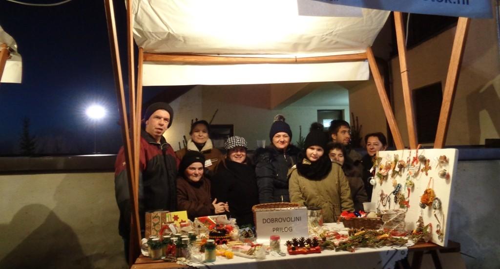 """Zajednica """"Živi potočić""""  Iz Otoka na Božićnom sajmu"""